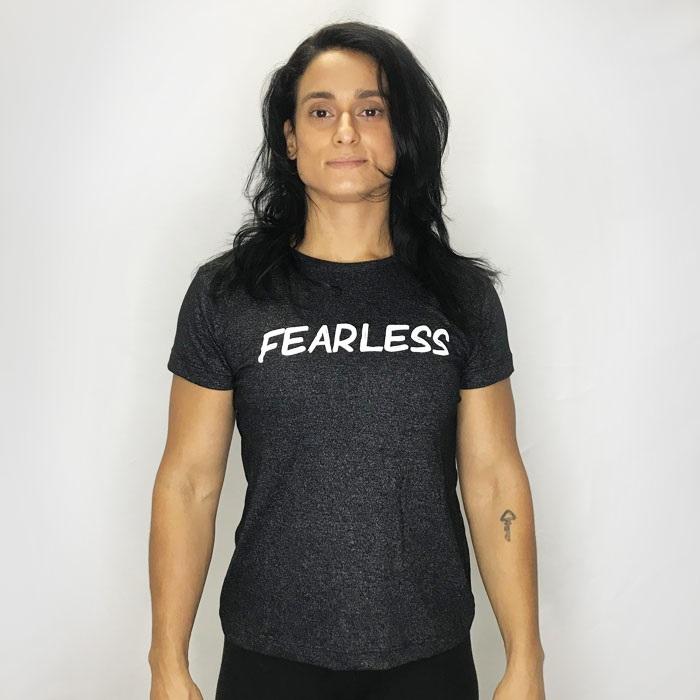 Camisa Fearless mescla