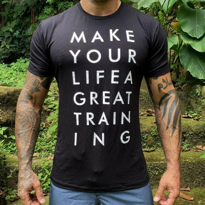 CAMISA ONSET FITNESS - MAKE YOUR LIFE